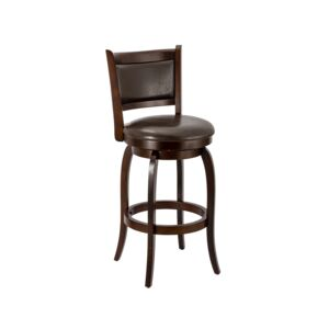 "BAR STOOL SWIVEL 29"" DARK ESPRESSO"