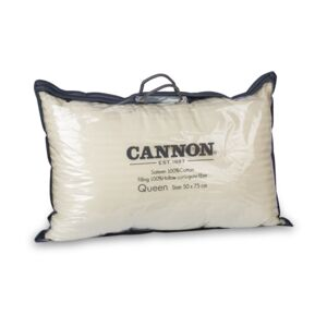 PILLOW QUEEN 50X75 CM SATEEN CANNON