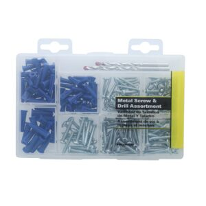 SCREW METAL AND DRILL KIT #10 12X1