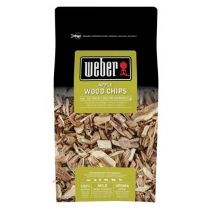 WOOD CHIPS SMOKING APPLE WEBER