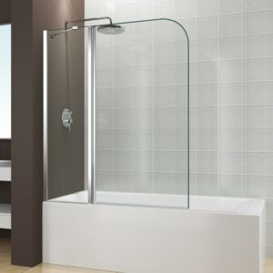 BATHTUB SCREEN LENS (80+30)X140CM 5MM