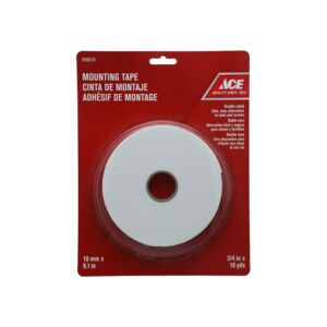"MOUNTING TAPE .75""X10YARDS ACE"