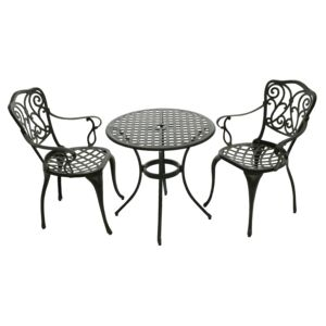 COFFEE BISTRO SET 3PCS 2ARM CHAIR 1TABLE
