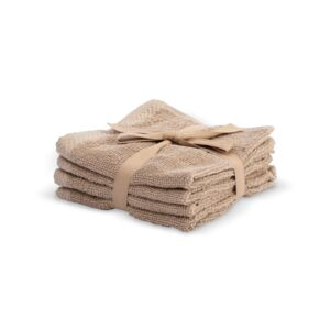 TOWEL 4PCS SET CONCEPTO L. BROWN