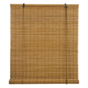 BLINDS ROLL 90X180CM BAMBOO L.BROWN