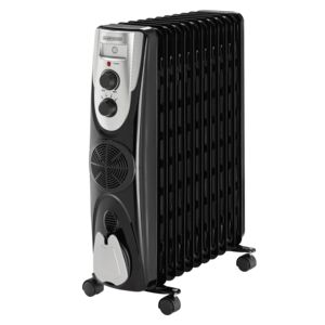 HEATER 11 FINS 2500W OIL FILLED RADIATOR