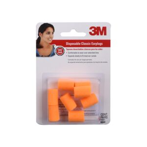 EAR PLUG 3/PAIR DISPOSABLE