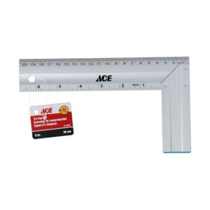 "TRY SQUARE 8"" 20CM ALUMINUM ACE"
