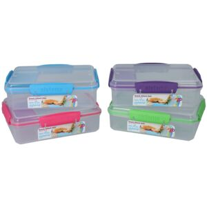 FOOD STORAGE DUO RECTANGULAR SISTEMA