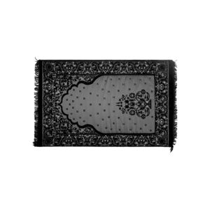 MEMORY FOAM PRAYER RUG INNOVATIV BLACK