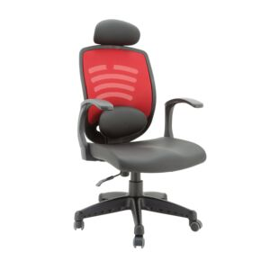 OFFICE CHAIR MANAGER RED/BLACK WIFI