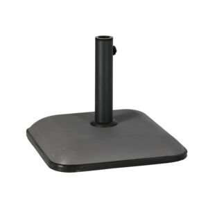 UMBRELLA BASE SQUARE CONCRETE 25KG GREY