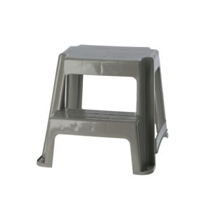 STEP STOOL DOUBLE STEP BEIGE