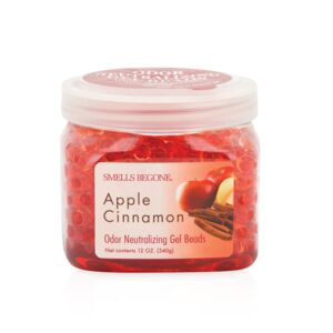 AIRFRESHENER-GEL BEADS 12OZ. APPLE CINNA