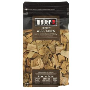 WOOD CHIPS SMOKING HICKORY WEBER