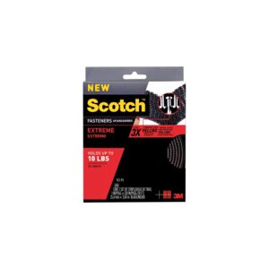 "FASTENER 1""X10' EXTREME BLACK SCOTCH"