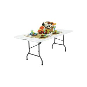 TABLE FOLDABLE 180X75X74CM 6' MOLD WHT