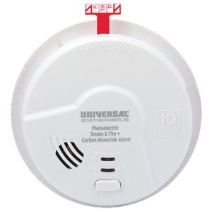 HALLWAY 2-IN-1 P/ELECT + CO SMOKE ALARM