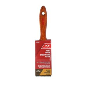 "PAINT BRUSH 2"" NATURAL WOOD HANDLE ACE"