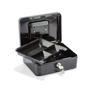 CASH BOX 9X20X16CM BLACK STARTECH