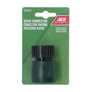 CONNECTOR HOSE QUICK PLASTIC ACE