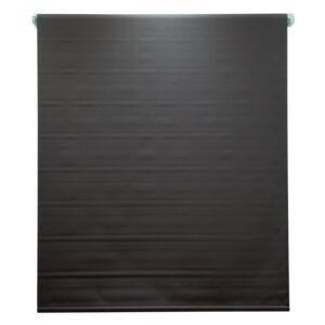 BLINDS 240X180CM POLY BLACKOUT CHOCO