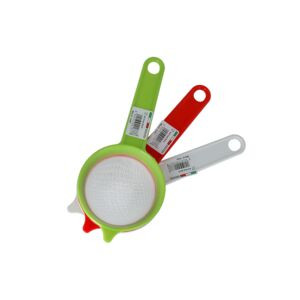 STRAINER 10CM NYLON NET ASSORTED