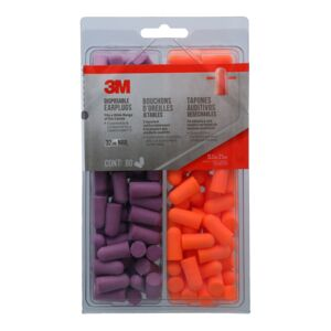 EARPLUG 80PAIR DISPOSABLE