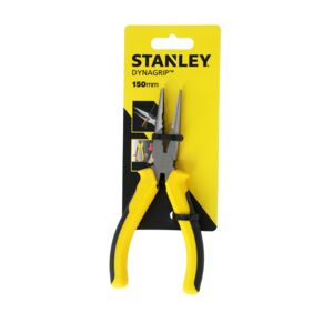 "LONG NOSE PLIER 6"" 15CM STANLEY"