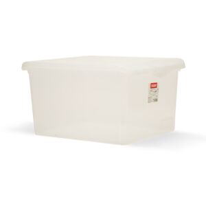 STORAGE BOX 35 LITERS TRANSPARENT