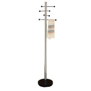 COAT HANGER STAND CHROME PLATED STEEL