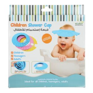 CHILDREN SHOWER CAP ASSORTED COLOR