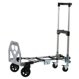 FOLDABLE CART 300LBS 2IN1 4WHEELS