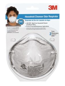 HOUSEHOLD CLEANSER ODOR RESPIRATOR 3M