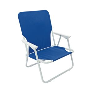 FOLDING CHAIR CAMPING BLUE