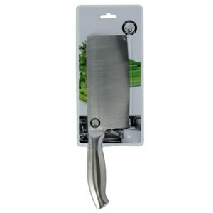 "KNIFE CLEAVER 6.5"" 2.0MM STAINLESS STEEL"