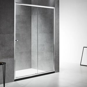 SHOWER DOOR MULSANNE SLIDE 150X190CM 6MM