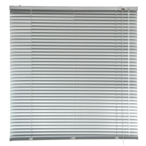 "BLINDS 120X180CM 1"" MINI ALUM SILVER"