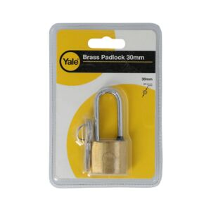 BRASS PADLOCK 30MM SIZE BRASS FINISH