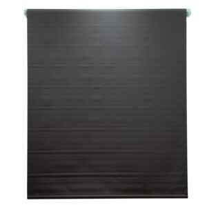 BLINDS 180X180CM POLY BLACKOUT CHOCO
