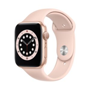APPLE WATCH S6 40MM GOLD CASE PINK BAND