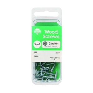 WOOD SCREW PHIL FLT HD 8X1 CD20