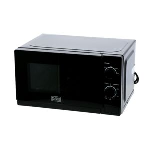 MICROWAVE 20L MANUAL 220V 700W BLK/WHT