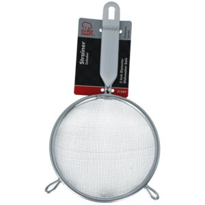 "MESH STRAINER 5"" ZINC PLATED CHEF CRAFT"
