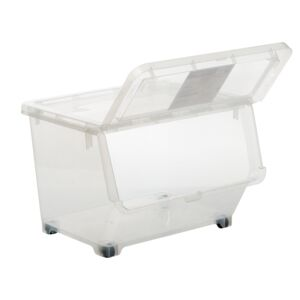 STORAGE BOX 30L TRNSPRNT LARGE PLASTIC