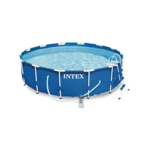 POOL SET 4.5M X 1.1M METAL FRAME INTEX