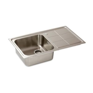 KITCHEN SINK SINGLE 86x50x20CM SS BL-890