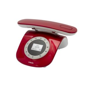 CORDLESS PHONE CLASSIC RED VTECH