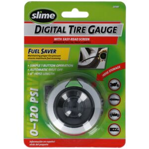 TIRE GAUGE W/HOSE DIGITAL ACC SLIME