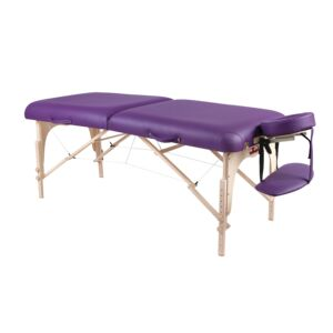 MASSAGE TABLE WOODEN W/CARRY BAG